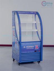 Nuevo diseño vitrina frigorífica para Centro Comercial
