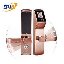 Face biométrico digital de reconhecimento de fechadura de porta com M1
