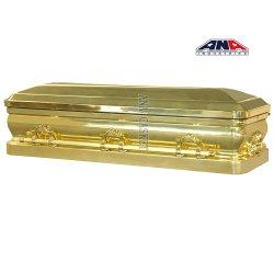 호화스러운 장례식 금속 폴란드인 청동 관 관