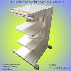 Feuille de métal de l'emboutissage de pièces de fabrication de matériel hospitalier chariot médical
