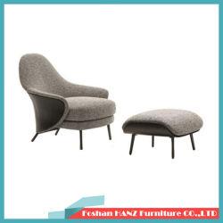 Ottomanの現代イタリアのLight Luxury Home Furniture Set Hotel Lounge Chair