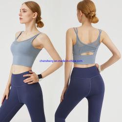 im auf lager weiblichen Eignung-Sport Büstenhalter-Yoga-, dassportkleidung nahtlose Frauen auffüllte, Eignung-Büstenhalter hochdrücken