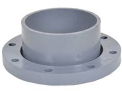Высокое качество пластмассового фланца UPVC Адаптер Адаптер давления из ПВХ трубы фитинг переходника с фланцем для водоснабжения стандарт DIN PN10