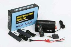 El disco duro 4CH 720p de 4G WiFi Mdvr / Cámara de 4 canales DVR coche admite GPS 3G