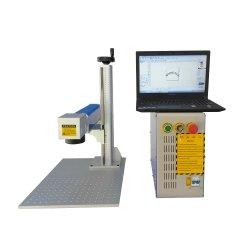 Mini portable 3D marqueur laser à fibre métallique /gravure/hacheur/Graveur / Machine de découpe pour l'impression du logo 20W 30W 50W
