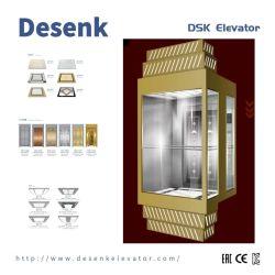 1350 kg Winkelcentrum Auto panoramische lift met sightseeing Glas koopt FUJI-fabrikant