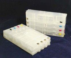 Cartuchos de recarga jato de tinta vazio para X476 970 971 com Chip Reset automático