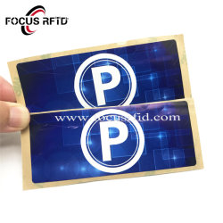 最もよい価格RFIDのペーパーステッカーの手段制御札