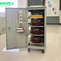 30kVA triphasé servomoteur AVR pour l'éclairage de l'équipement de haute précision du régulateur de tension automatique de l'AC/svc de stabilisateur