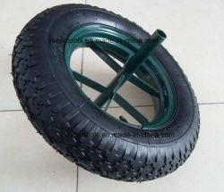 16дюйма говорил Rim резиновые колеса для тележки Wheelbarrow воздуха