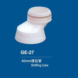 40mm het Toilet die van pvc Pijp verplaatsen