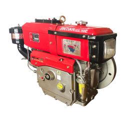 4 Portable-course unique cylindre moteur diesel refroidi par eau industrielle (jr190L)