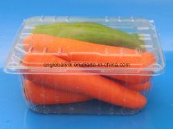Контейнер пластичного плодоовощ упаковки еды Clamshells волдыря упаковывая на виноградина 1000 грамм