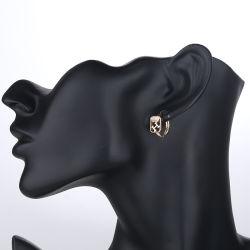 الموضة 14K الذهب المجوهرات التقليد AAA زركونيا كريستال مكعب النساء المحاربات