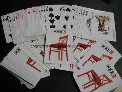 싼 가격을%s 가진 OEM 주문 광고 부지깽이 Playingcard