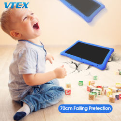 10 années d'expérience étui en caoutchouc la chute de la protection de l'éducation Stuedent 10.0 Kids 4G Dual SIM Android Tablet PC 10,0 écran tactile