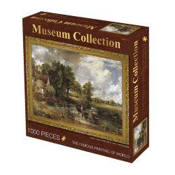 Inzameling van de Wereldberoemde Schilderijen de Raadsels van 1000 Stukken