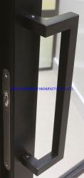 Потяните ручку на площади из нержавеющей стали для стекла двери (GPH-014)