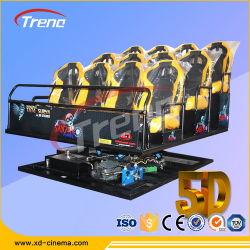 Mini de entretenimento 5D de cinema em casa 7D o equipamento de cinema para o parque de diversões
