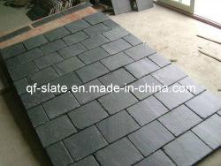 Surface lisse naturel noir/gris ardoise de toit, l'Ardoise pour toitures de pierre