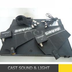 De UHF Draadloze Antenne van het Systeem van de Microfoon met Geïntegreerde Versterker