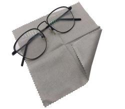 Custom réutilisables de daim de nettoyage en microfibre chiffon anti brouillard lentille