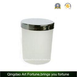 Couvercle de métal Bougie en verre de conteneur pour bougie votive