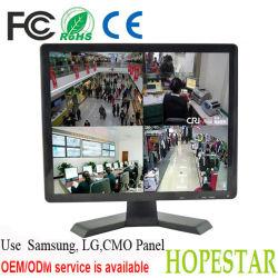 شاشة TFT LCD CCTV بشاشة 15 بوصة مزودة بشاشة أمان / شاشة CCTV