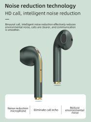 سماعة رأس لاسلكية J18 TWS Bluetooth 5.0 سماعة رأس لاسلكية Bluetooth مقاومة للماء لإكسسوارات الهاتف المحمول Xiaomi