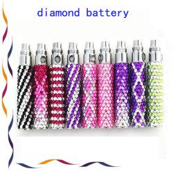 Diamond EGO EGO de cristal de Bateria Bateria de cigarros electrónicos/E-líquidos
