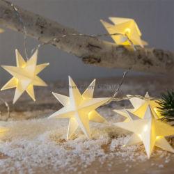 Papel decorativo LED Parte Estrela da Luz de String