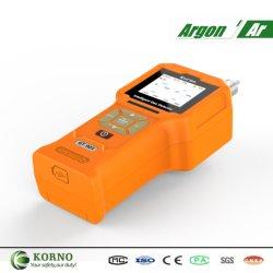 Bewegliches einzelnes Argon-Testgerät mit Wärmeleitfähigkeit-Fühler (AR)