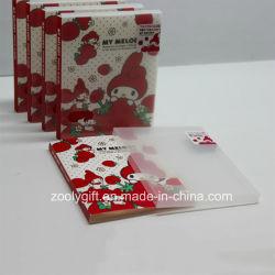 ألبومات صور مطبوعة من البلاستيك PP / PVC مقاس 4 × 6 بوصات مع صور واضحة صندوق