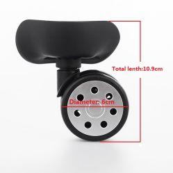 荷物のトロリースーツケースの習慣のためのプラスチック車輪はロゴを4インチのスーツケースの車輪動かす