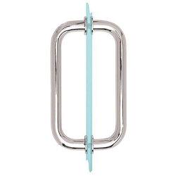 """8"""" обратно в задней части трубчатых душ двери потяните за безрамные двери душ полированный хром с облицовкой шайбы"""