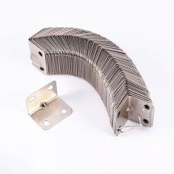 Cuisinière à gaz personnalisé de l'automobile tôle en acier inoxydable aluminium Emboutissage de pièces, le support en L'angle d'acier le renfort du support de porte