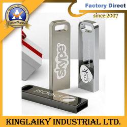 판촉 선물용 새 디자인 메탈 로고 USB(KUSB-004)
