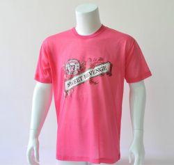 Мягкий Джерси короткие рукава Crewneck 100% хлопок вязание футболка