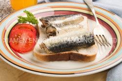 Просто готовы быстро консервированных продуктов питания Sardine рыба в рассоле 155g