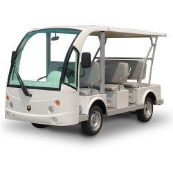 أربعة عجلات أنيقة صديقة للبيئة ثمانية مقاعد لمشاهدة معالم المدينة الكهربائية حافلة صغيرة تنقل سياحي (DN-8F)