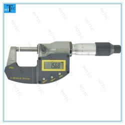 Herramienta de medición de la prueba de agua IP65 Digimatic electrónico digital fuera de micrómetro calibre