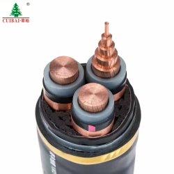 地下IEC Mv耐火性の防水PVC/XLPEは保護されたアルミニウムまたは銅のコアDC/ACゴム製オーバーヘッドABCの空気の束電気ワイヤー電源コードを錫メッキした