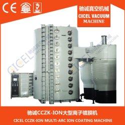 Cczk PVD de alta calidad sanitaria de la máquina para recubrimiento de cromo de grifo, apenas el cuarto de baño, Muebles