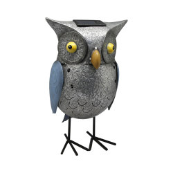 Сова металлические сеялки среднего размера с / утюг завод животных для потенциометра крытый и открытый / Cute Плз Металлический ручной работы сеялки / цветы в горшочках