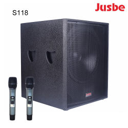 S118 강력한 옥외 사운드 시스템 DJ 베이스 스피커 18inch Subwoofer