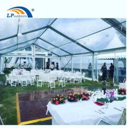 Elegante struttura trasparente tenda per eventi europea per feste di nozze