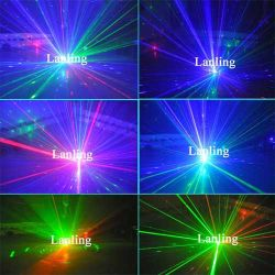 RGB Laserlicht-Laser-Kugel-Disco-Leuchte (LMB18RGB)