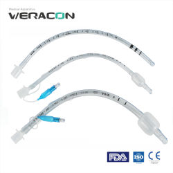 またはUncuffed平手打ちされるか、または補強されるを用いる510K医学の使い捨て可能なEndotracheal管