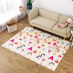 Imperméable de haute qualité facile à nettoyer le pliage en mousse colorée doux XPE Kid bébé jouer le tapis de plancher