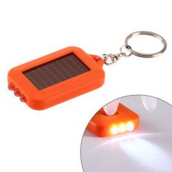 Zonne-energie Lichte Keychain 3 LEIDENE Elektrische Toorts met Zeer belangrijke Ketting